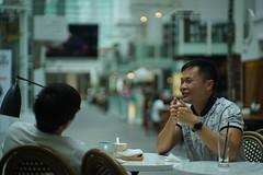 DSC04264 (oliveplum) Tags: capitolpiazza fooddirectory shoppingmall people bokeh olympusomsystemzuikomcautot12f85mm sony singapore