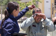 Bautizo de  piloto Hector San Martin (Claudio Lopez D. www.9p.cl) Tags: piloto bautizo perro del aire club aereo vallenar