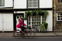 (Molly Sanborn) Tags: travel explore wales united kingdom uk europe photography people oxford england university city street bike bicyclist action motion blur