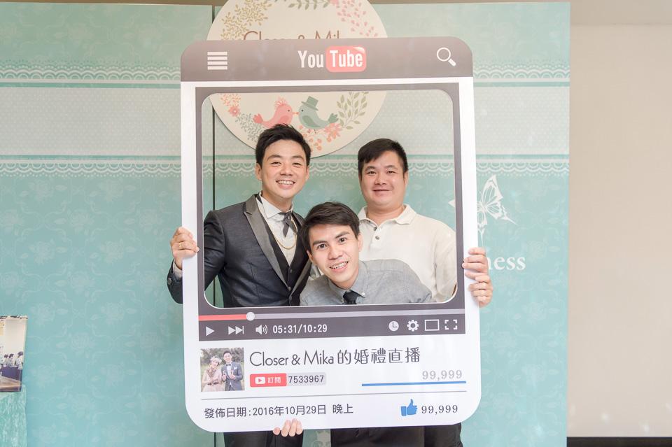 台南婚攝 婚禮紀錄 情定婚宴城堡 C & M 103