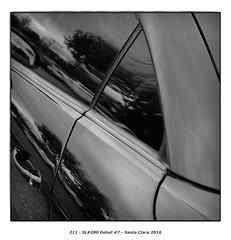 SLK280 Detail #7 (Godfrey DiGiorgi) Tags: colorskopar50mmf25 abstract automobile bw car detail shape slk280 stilllife santaclara california usa us
