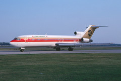 Continental 727P (T.O. Images) Tags: n69736 continenta airlines boeing 727 detroit metro dtw
