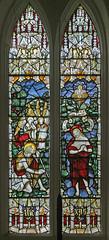 Baptism, Boxworth (TheRevSteve) Tags: anglican parish church stpeter boxworth cambridgeshire papworthteamministry baptism charleseamerkempe kempe stainedglass