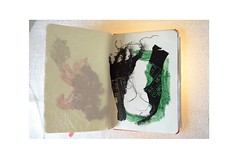 Elogio del Miau - Praise of Meow (Alejandro Taliano) Tags: libro notebook dibujo draw handmadecollage