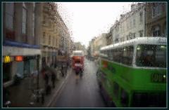 2005-03-12 Oxford (Yuriy Sanin) Tags: оксфорд цветнаяфотография капли автобус 135 фотовыставка 1 oxford uk nikon fg20 bus colour bike drops юрий санин yuriy sanin