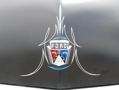 1951 Ford pinstripe (bballchico) Tags: 1951 ford shoebox goodguys goodguyspacificnwnationals carshow 1950s pinstripe