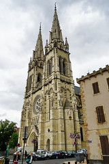 Cathedrale Notre-Dame de l'Annonciation in Moulins 16.9.2016 4146 (orangevolvobusdriver4u) Tags: rn7 route national 7 routenational7 routebleue 2016 archiv2016 france frankreich n7 moulins cathedralenotredamedelannonciation cathedral kathedrale auvergne