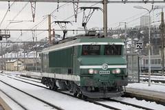CC-6558 sous la neige (Maxime Espinoza) Tags: cc 6500 6558 maurienne sncf train apmfs chambry lyon lumires