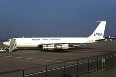 EL-AJA (Liberia World) (Steelhead 2010) Tags: liberiaworld lwa boeing b707 b707320c cargo bsl elreg elaja