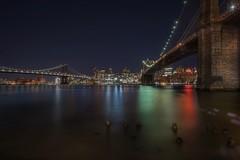 Brooklyn View (karinavera) Tags: travel sonya7r2 bridge city longexposure manhattan newyork night nyc cityscape brooklyn