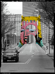 Andy Warhol Bridge (Don Henderson) Tags: pittsburgh westernpennsylvania alleghenyriver alleghenycounty andywarholbridge