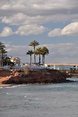 La Zenia (Hayley Wincott) Tags: sea sky holiday beach clouds hotel sand waves alicante torrevieja lazenia