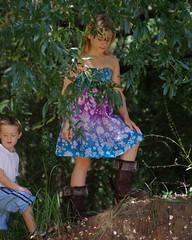 Queen of the hill (wfpowell) Tags: children pentax naturallight m42 jupiter9 manuallens k20d