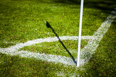 Corner (Hkan Dahlstrm) Tags: shadow white grass lines corner se football skne sweden soccer creative commons cc uncropped 2012 f40 fotboll hgans canoneos5dmarkii sek ef2880mmf284lusm 4413052012144533