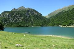 Lac de Bious-Artigues (1422m) (arno_photo) Tags: montagne rando lac pic pyrenees randonne ossau ayous picdossau roumassot