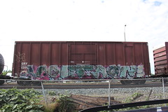 Voltron (Stock Tip Assassin .) Tags: cn train bench graffiti railway canadian boxcar voltron freight sry natioanl fr8 e2e