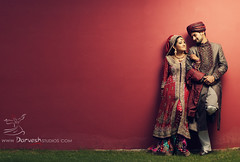 Rida and Bakir | 1 (Ahmad A Karim) Tags: lighting wedding pakistan portrait groom bride shoot desi studios eastern rida darvesh bakir
