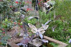 Butterfly Sculpture (The Brit_2) Tags: gardens botanical texas tx south christi corpus