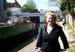 Sister Denise at Regents Canal Camden  02/05/13. (Ledlon89) Tags: