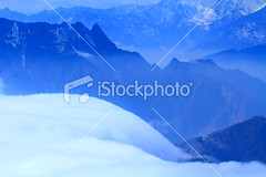 Niubei mountain sea of clouds (MPBHAIBO) Tags: china travel blue winter cloud sunlight mountain cold tourism nature fog season landscape waterfall asia dusk religion nobody canyon falling ridge valley ethereal backgrounds ravine kham spirituality  idyllic clearsky lighteffect mountainrange seaofclouds tranquilscene  chineseculture  wildernessarea famousplace mountainpeak ruralscene naturallandmark  beautyinnature nationallandmark nonurbanscene sichuanprovince extremeterrain  natureabstract mirroredpattern  naturebackgrounds