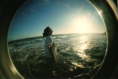 Ocean Grove (mariah.rose) Tags: ocean sea beach lomo lomography fisheye oceangrove