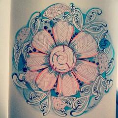 day 112 (Nadik25) Tags: art moleskine drawing doodle zen meditation 365 doodling zentangle zendoodling instagram zenstagram