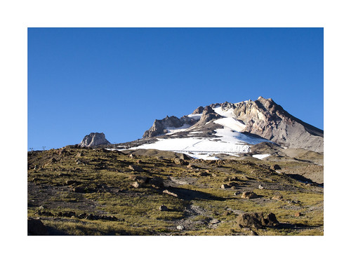 Mt Hood in the summer