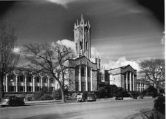 Auckland University Clock Tower (Archives New Zealand) Tags: 1920s newzealand tower clock architecture clocktower auckland artnoveau artsandcrafts universityofauckland newzealandhistory roylippincott archivesnewzealand edwardbillson williamjervois