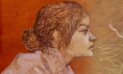 "Las Madeleines escuchando la soleada soledad, descripciones de Henri de Toulouse Lautrec (1889) y Pablo Picasso (1904). • <a style=""font-size:0.8em;"" href=""http://www.flickr.com/photos/30735181@N00/8805136191/"" target=""_blank"">View on Flickr</a>"