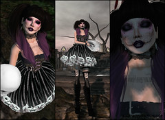 Skull Style (Aarya Phantomhive) Tags: skull truth gothic goth sl secondlife virtualworlds worldgothfair