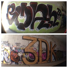 Boah 3Dk 2013 (~leonard washington~) Tags: get up graffiti tunnel roller tagging boah 3dk uploaded:by=flickrmobile flickriosapp:filter=nofilter