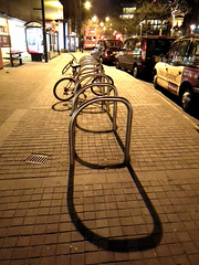 Bike Stands (Russell Bloor) Tags: urban cities bikes bicycles