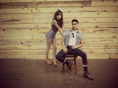ML3 (mtsotophotography) Tags: cute love fashion photography couple pinup greaser