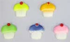 Cup cakes assorted size 3cm (sweetinspirationsaustralia) Tags: cupcaketoppers