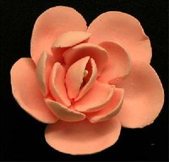 Small Jasmine No wire - Pink 3cm (sweetinspirationsaustralia) Tags: cupcaketoppers