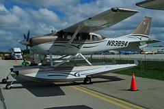 N93894 (Steelhead 2010) Tags: seaplane cessna floatplane bushplane ykf t206 nreg n93894