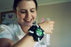 Raising a superhero glass (*Vindaloo*) Tags: selfportrait glass drink superhero gin ben10 hereios hpad2013 hpad070613