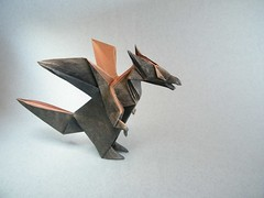 Western Dragon - Jun Maekawa (Rui.Roda) Tags: origami dragon western papiroflexia jun drago maekawa ocidental