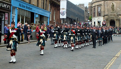 Farewell to the Argylls (Honestman28) Tags: army scotland stirling argyll sutherland balaclava regiment highlanders