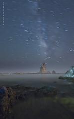 La magia de las sirenas. (Francisco J. Prez.) Tags: naturaleza nature night mar nocturnas niebla sigma1020mm pentaxk5 franciscojprez