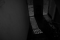 DOTS (trek3500) Tags: old light shadow sky sun window silhouette contrast blackwhite stair staircase dhaka dots lightshadow bangladesh olddhaka cannon600d