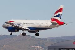 British Airways Airbus A319-131 G-EUPR cn 1329 (Clment Alloing - CAphotography) Tags: barcelona cn canon airplane airport aircraft bcn airbus british airways balcon aeropuerto spotting t1 barcelone 1329 100400 a319131 geupr 07l lebl 25r