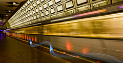 public exposure (jfre81) Tags: longexposure motion blur dc washington publictransportation metro transit redline wmata