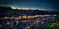 Le Port de Dinan (bruno.astorg) Tags: france port canon europe bretagne crpuscule lumires dinan cotesdarmor heurebleue lanvallaybrunoastorg