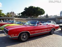 1971 Ford LTD Convertible (Yohai_Rodin) Tags: classic cars car club israel 5 five tel aviv אביב תל מכונית מועדון מכוניות היכל נוקיה קלאסית קלאסיות החמש