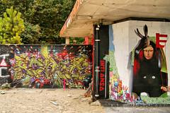 Street Art (dprezat) Tags: street paris building art painting graffiti tag peinture immeuble bombe fresque pochoir arosol sonyalpha700 tourparis13