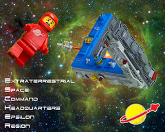 E.S.C.H.E.R. Space Station (David Roberts 01341) Tags: classic station lego space optical illusion escher
