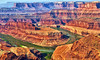 View from Dead Horse Point (Jeff Clow) Tags: vacation landscape getaway deadhorsestatepark moabutah ©jeffrclow dirtcheapphototours jeffclowphototour moabphototour inexpensivephototour