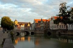 Bruges, Belgique (moscouvite) Tags: voyage belgique ciel pont sonydslra450 heleneantonuk