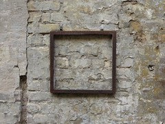framed (Ellen Ribbe) Tags: wall rust wand surface rost oberflche